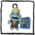 Tofu Monster Mouth Key Chain